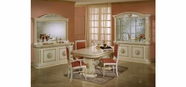 Vig Vgaccrossella-Beige-Din-S Rossella Beige Traditional Dining Set (Including China)