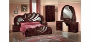 VIG Furniture VGACCVANITY-WAL Vanity Mahogany - Italian Classic Bedroom Set