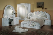 VIG Furniture VGACCVANITY-WHT Vanity White - Italian Classic Bedroom Set