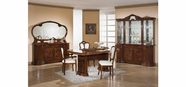 VIG Furniture VGACELIZABETH-WNT-DIN-S Elizabeth - Italian Traditional Dining Set