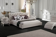 VIG Furniture VGBN-5817 Contemporary White Leatherette Bed