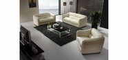 VIG Furniture VGBN371 Modern Beige Leather Sofa Set - 371
