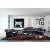 VIG Furniture VGBN5931 Divani Casa 5931 - Transitional Tufted Sectional Sofa & Love Seat