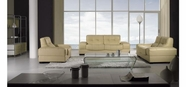 Vig Vgbnbo3884 Bo3884 Modern Beige Leather Sofa Set
