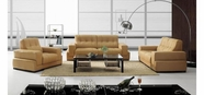 VIG Furniture VGBNBO3911 BO3911 Modern Light Brown Leather Sofa Set