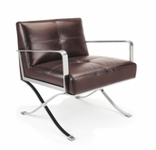 VIG Furniture VGBNEC-011 EC-011 - Modern Leather Lounge Chair