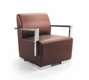 VIG Furniture VGBNEC-013 EC-013 - Modern Leather Lounge Chair