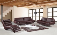 VIG Furniture VGBNSBO3979BRWN Divani Casa 3979 - Modern Esspresso Leather Sofa Set