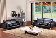 Vig Vgca233 233-Modern Italian Leather Sofa Set