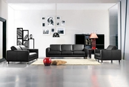Vig Vgca283-44 Bella Italia 283 Modern Leather Sofa Set