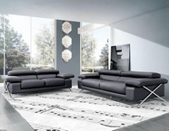 Vig Vgca513 513-Modern Italian Leather Sofa Set