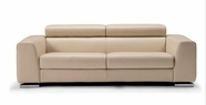 Vig Vgca553-Bge 553-Modern Beige Italian Leather Sofa Set