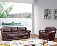 Vig Vgca558 558-Classic Brown Sofa Set