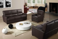 VIG Furniture VGCA641-45 Bella Italia 641 Full Italian Leather 3 Piece Reclining Sofa Set