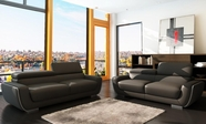 Vig Vgca955 955-Modern Italian Leather Sofa Set