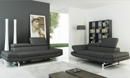 Vig Vgca957 957-Modern Italian Leather Sofa Set