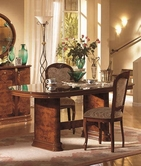 VIG Furniture VGCAFLORADIN-SET Flora - Walnut Dining Table with 6 Tibet Chairs