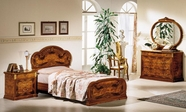 VIG Furniture VGCAMILADYTWIN-1 Milady Italian Single Bed with 2 Nightstands