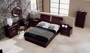VIG Furniture VGCAMISSITALIA01 Miss Italia - Composition 01 - Italian Platform Bed Group