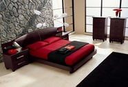 VIG Furniture VGCAMISSITALIA02 Miss Italia - Composition 02 - Italian Platform Bed Group