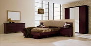 VIG Furniture VGCAMISSITALIA03 Miss Italia - Composition 03 - Italian Platform Bed Group