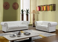 VIG Furniture VGCASIRWILLIAM-bonded Sir William - Bonded Leather Sofa Set