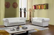 VIG Furniture VGCASIRWILLIAM Sir William - Top Grain Italian Leather Sofa Set