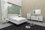 VIG Furniture VGCN1301-VGCN1302C Voco Modern White Bedroom Set