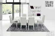 VIG-Furniture-VGCNAURAWHT-VGCNAURAWHT-DIN-CHAIR Modern White Floating Dining Set