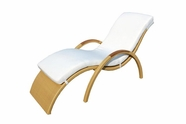 VIG Furniture VGCWGB19 GB19 Patio Chaise Lounge
