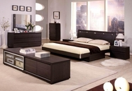 VIG Furniture VGDAFCAPRI Capri Modern Bed Group