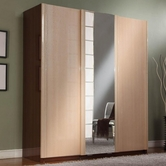 VIG Furniture VGDAFLIZA-3DARM Liza - 3 Sliding Doors Armoire