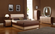 VIG Furniture VGDAFMAYA Maya Modern Lacquer Bed Group