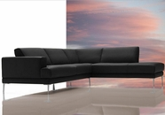 VIG Furniture VGDIMIRAGE-BLK Mirage - Modern Sectional Sofa
