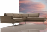VIG Furniture VGDIMIRAGE-LATTE Mirage - Modern Sectional Sofa