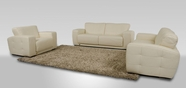 Vig Vgdimsynfony-Wht Synfony-Modern White Italian Leather Sofa Set