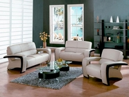 VIG Furniture VGDM1004-BL Divani Casa Sydney - Modern Bonded Leather Sofa Set
