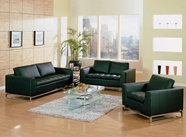 Vig Vgdm1048-1 Divani Casa Manhattan-Modern Leather Sofa Set
