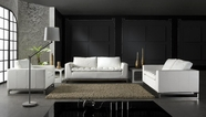 Vig Vgdm1048-2 Divani Casa Manhattan-Modern Leather Sofa Set