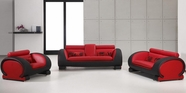 VIG Furniture VGDM2811RB-BL Divani Casa 2811 - Modern Bonded Leather Sofa Set