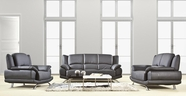 VIG Furniture VGDM2818-1 Divani Casa 2818 - Modern Black Sofa Set