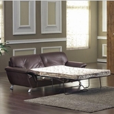 VIG Furniture VGDM2820 2820 Bonded Leather Sofa Set with Sofa Bed