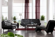 VIG Furniture VGDM2918-BL 2918 Modern Bonded Leather Sofa Set
