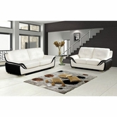Vig Vgdm3024 3024 Modern Bonded Leather Sofa Set
