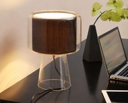 VIG Furniture VGDP7004 7004 - Modern Brown Table Lamp