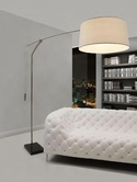VIG Furniture VGDP7012 7012 - Modern White Floor Lamp