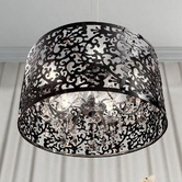 VIG Furniture VGDP7014 7014 - Modern Black Pendant Lighting