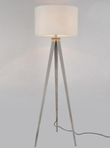 VIG Furniture VGDP7016 7016 - Modern White Floor Lamp