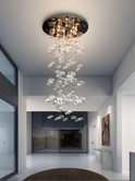 VIG Furniture VGDP7019 7019 - Modern Glass Pendant Lighting