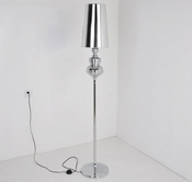 VIG Furniture VGDP7020-BLK 7020 - Modern Black Floor Lamp